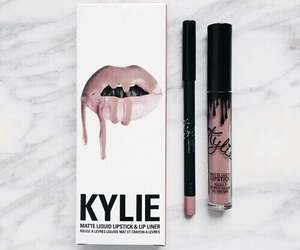 makeup, lipstick, and kylie image
