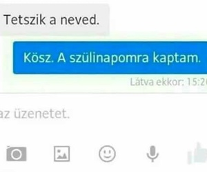 funny, hungarian, and messenger image