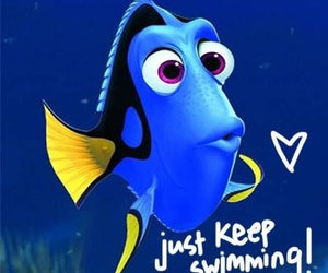 dory, disney, and finding nemo image