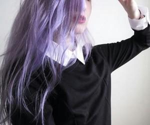 grunge and purple image