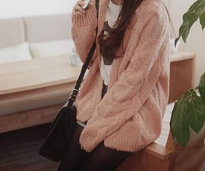 girl, kfashion, and korean fashion image