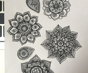 doodle, school, and maybe art image