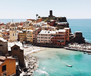 cinque terre, gorgeous, and italy image
