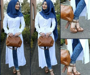 cool, fashion, and hijab image