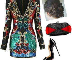 Balmain, fashion, and glam image
