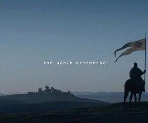 game of thrones, north, and got image