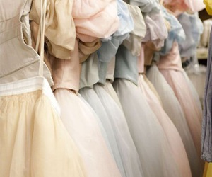 dress, ballet, and pastel image