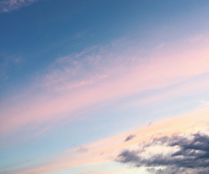 blue, heaven, and pink image