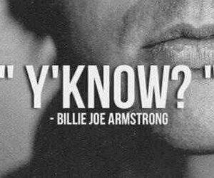 billie joe armstrong, green day, and y'know image
