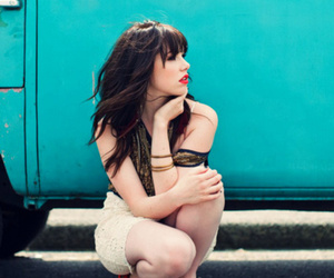 carly rae jepsen, girl, and car image