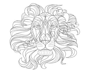 digital art, etsy, and coloring page image