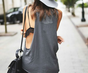 fashion, summer, and gray image
