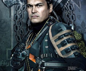 suicide squad, slipknot, and adam beach image
