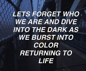 grunge, all caps, and 5sos image
