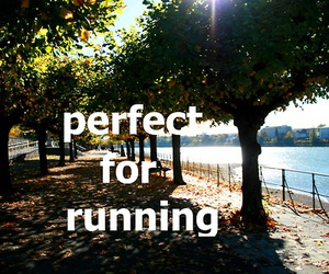 running, fitness, and fitspiration image