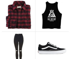 outfit, rock fashion, and moda rockera image