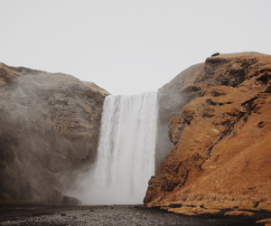 amazing, waterfall, and landscapes image