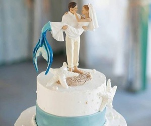 mermaid and cake image