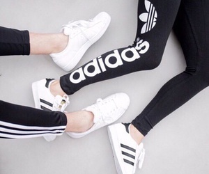 adidas and leggings image
