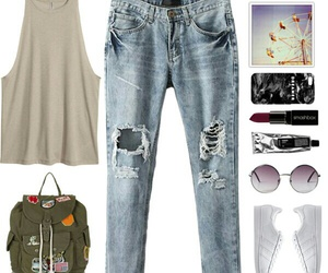moda, Polyvore, and outfit image