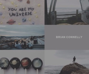 aesthetic, books, and brian image