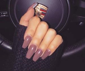 nails, car, and porsche image