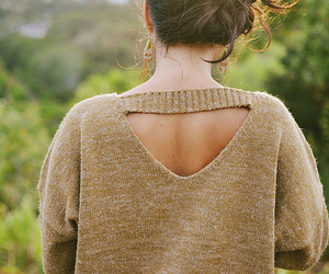 girl and sweater image