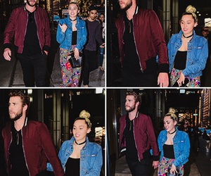 love, liam, and miley cyrus image