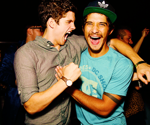 teen wolf, daniel sharman, and tyler posey image