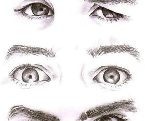 eyes, one direction, and niall horan image