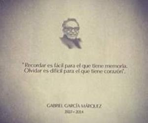 frase, gabriel garcia marquez, and escritor image