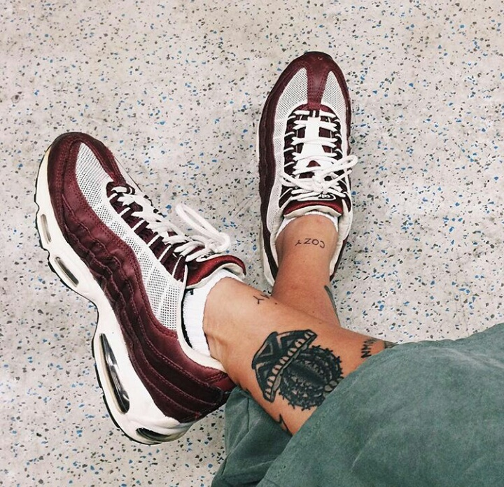 shoes, tattoo, and sneakers image