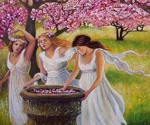 art, beautiful, and girls image