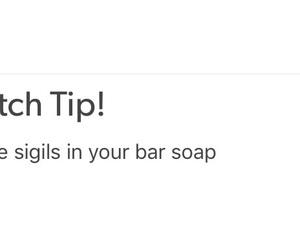 magic, sigils, and soap image