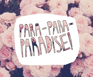 paradise, flowers, and coldplay image