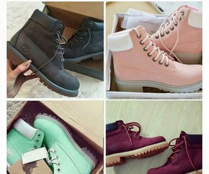 timberland, shoes, and timbs image