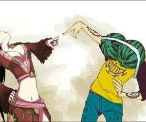 one piece, Law, and funny image