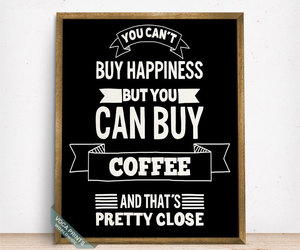 coffee, etsy, and funny quote image