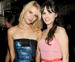 claire danes and zooey deschanel image
