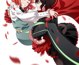 anime, anime girl, and rwby image