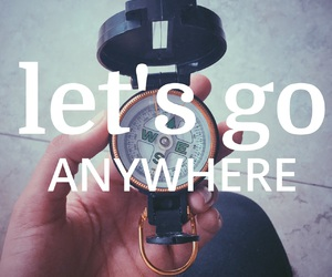 compass, easel, and get lost image