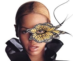 2003, butterfly, and makeup image