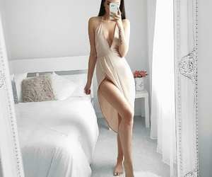 bedroom, style, and dress image
