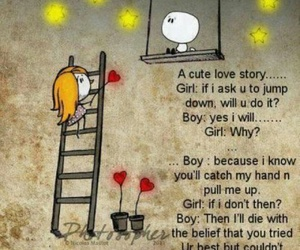 love, boy, and love story image
