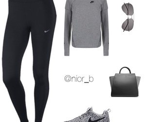 casual, gym, and outfit image