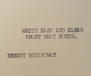 quotes, hurt, and write image