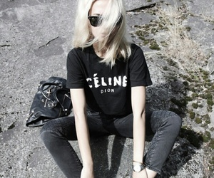 fashion, hair, and celine image