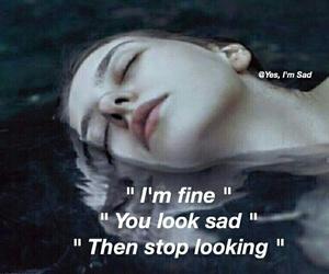 sad, cold, and girl image