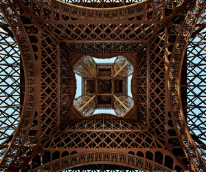 awesome, looking up, and eiffel tower image