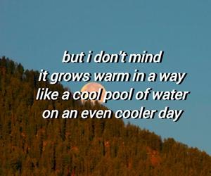 blue, Lyrics, and original image